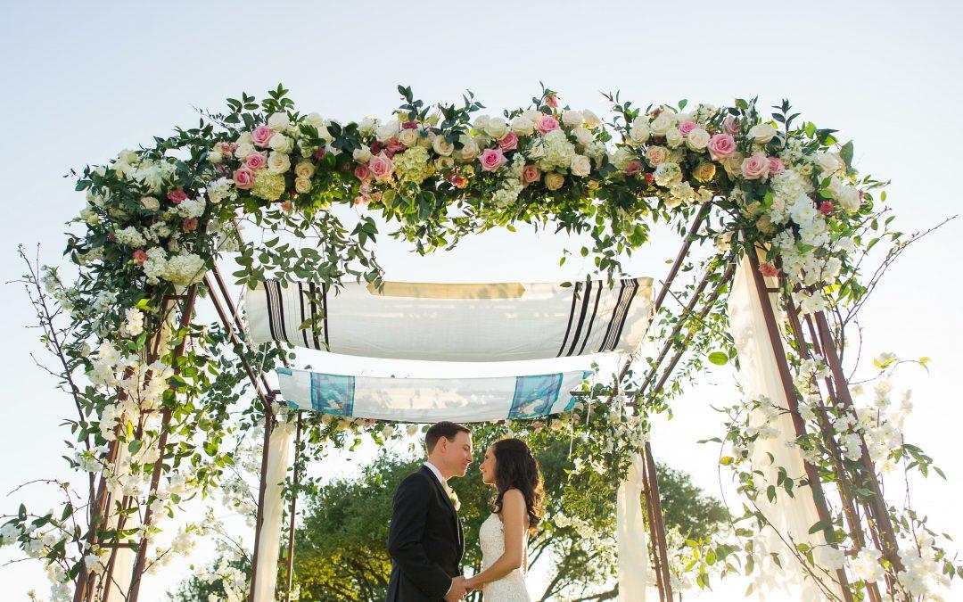 Real Weddings: Sarah + Jared {a modern Jewish wedding}