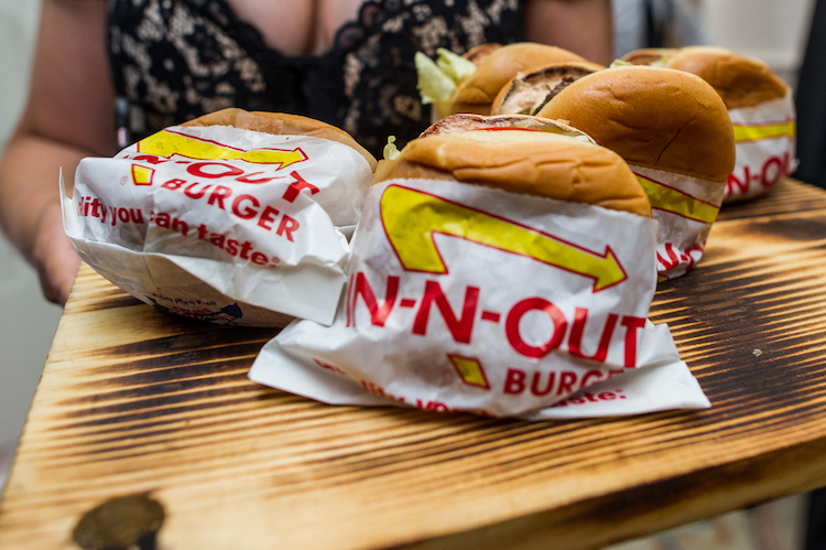 Zale Wedding/ In and Out Burger