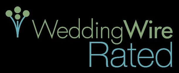 We Earned the WeddingWire Rated Bronze Badge