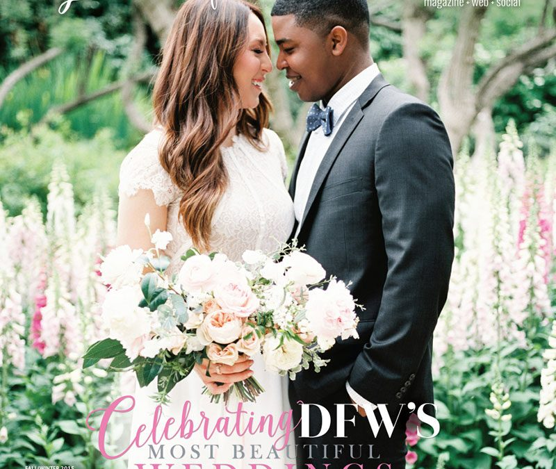 Brides of North Texas features our Moroccan inspired wedding at Hotel Zaza