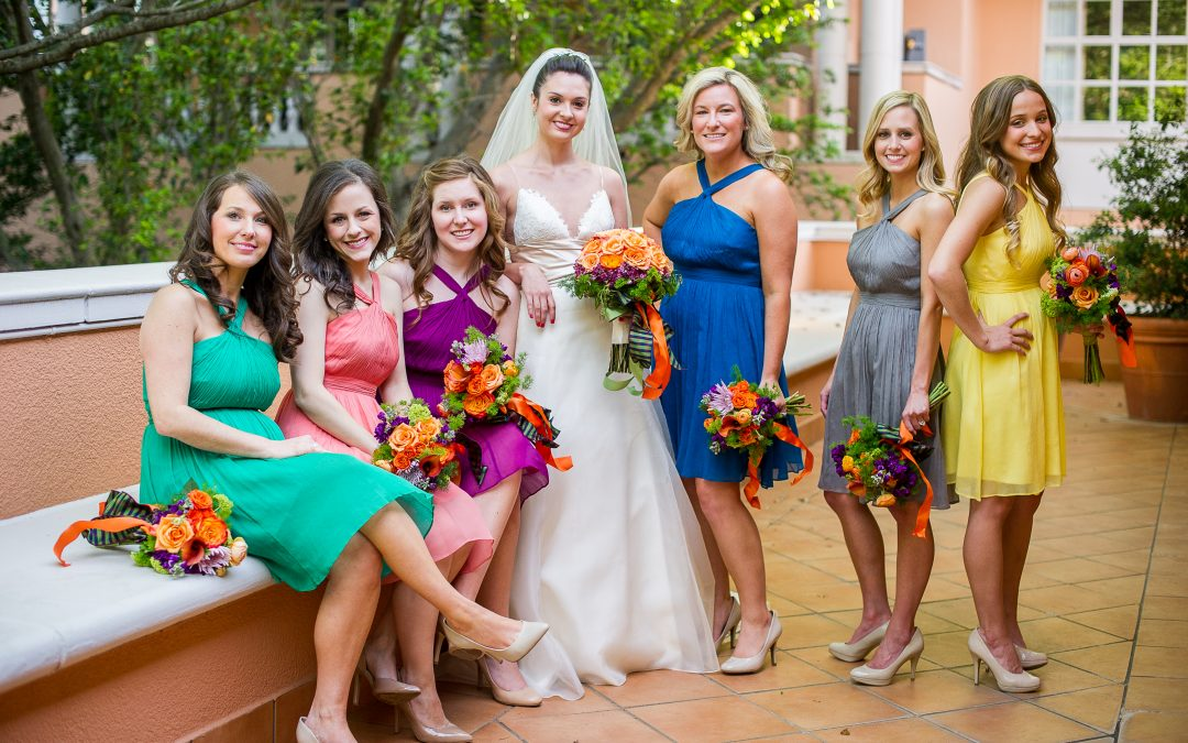 Real Weddings: Jacqueline and Michael {Style Me Pretty}