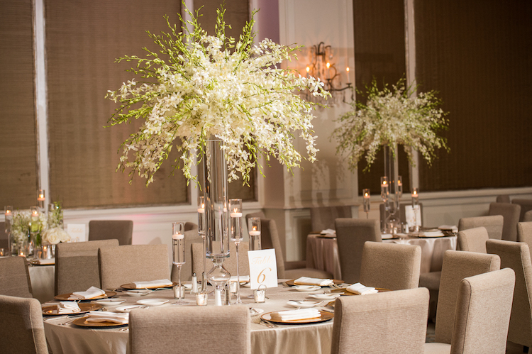 Zale / Tall Table Centerpieces