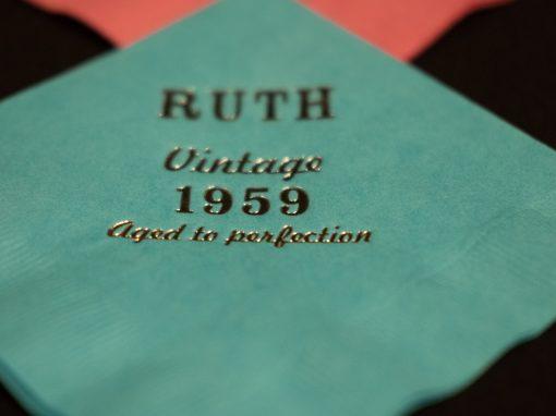 Ruth's 60th