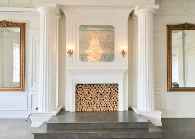 The Mason Ballroom Fireplace